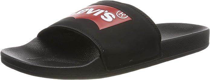Levi/'s Mens Batwing Soft Comfort Rubber Outsole Slip-on Slide Soccer Sandal
