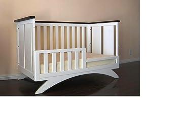 Exceptionnel Eden Baby Madison Collection Crib, White/Espresso