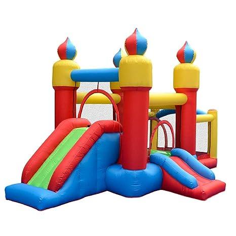 Castillos hinchables Tobogán para Niños Al Aire Libre ...