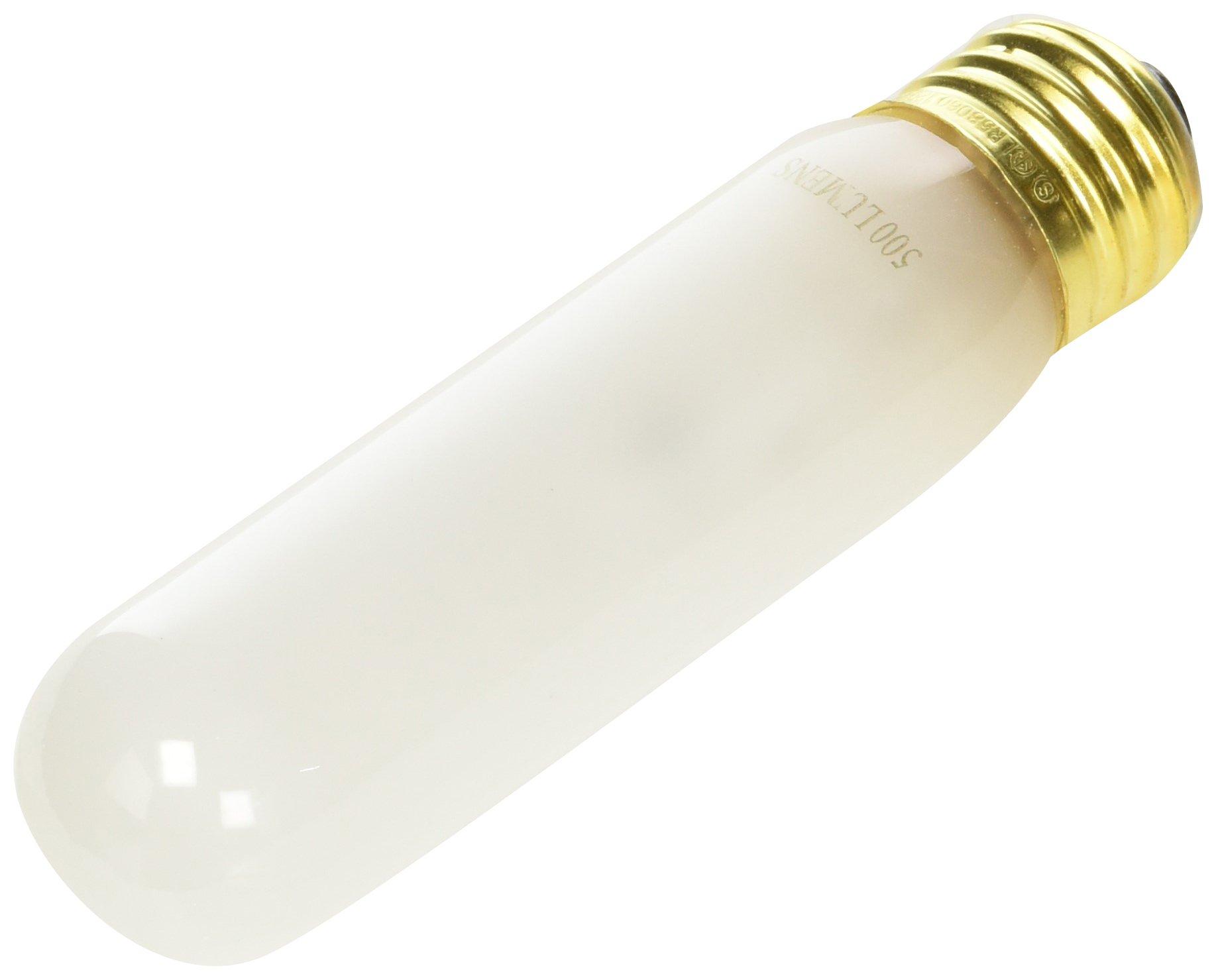 Satco S3899 5-Pack 120-Volt 60-Watt T10 Medium Base Light Bulb, Frosted