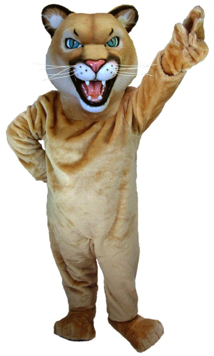 Cougar or Puma Mascot Costume