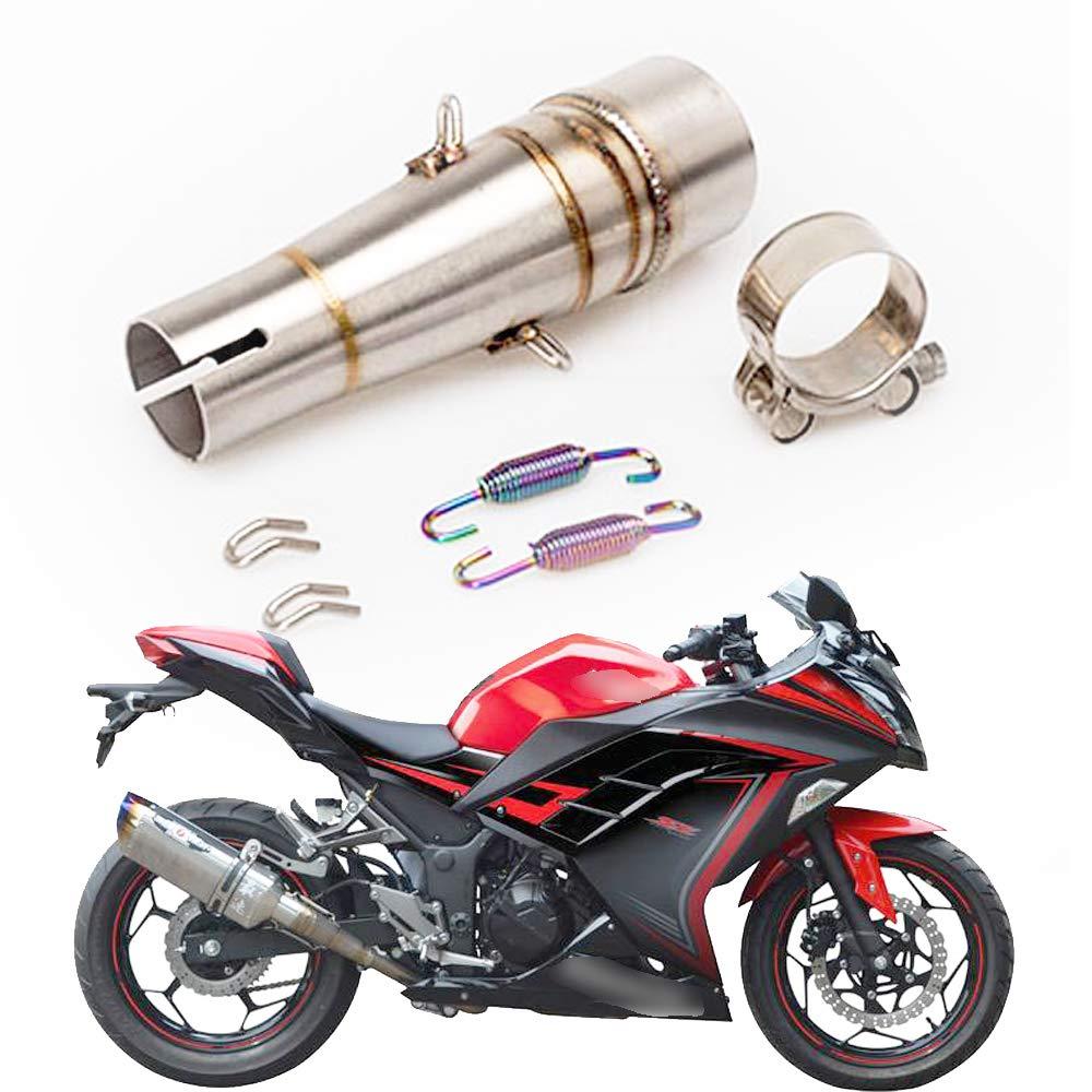 Amazon.com: KYN Motorcycle Exhaust Muffler Middle Link Pipe ...