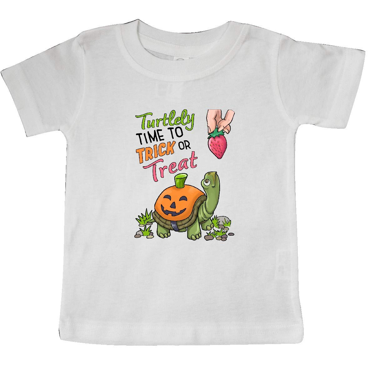 inktastic Turtlely Time to Trick or Treat with Cute Turtle Pumpkin Baby T-Shirt