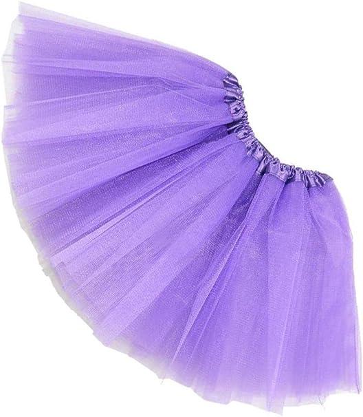 SODIAL(R)Mujer / adulta Ropa de danza de organdi Tutu Falda de ...