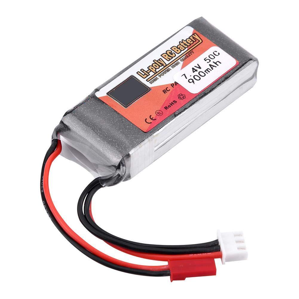 7.4V LiPo Battery 900mAh 7.4V 50C JST Plug Power 900mAh//1000mAh 50C JST Plug Rechargeable LiPo Battery for RC Car//Airplane//Boat//Aircraft
