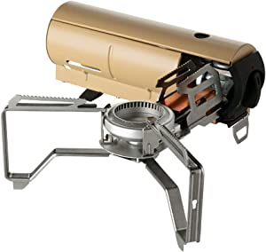 Snow Peak's Home & Camp Burner, Designed in Japan, Lifetime Product Guarantee, Lightweight and Compact for Camping, Stable Base for Cooking