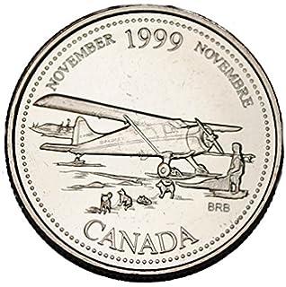 Canada 1967 Centennial 5 Cents Rabbit Nickel - One Coin