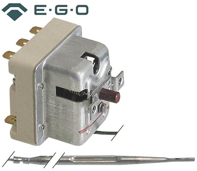 Modular Seguridad Termostato EGO Tipo 55.32562.802 para Kipp Sartén, horno, plancha
