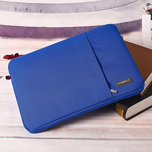 """Laptop Tablet Notebook Sleeve Case Bag Pouch Cover For surface pro 3/4/5 12.3"""" surface book 13.5"""" for surface book 2 13.5"""" 15"""" for surface laptop (for surface pro 5, Blue)"""
