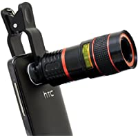 Gradeo G5S 8X Zoom Mobile Phone Telescope Lens for Optical Magnifier Convert Compatible with All Smartphone Device (Assorted Colour)