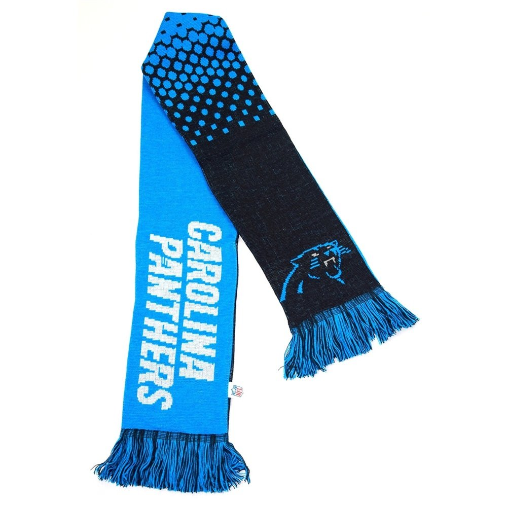 Forever Collectibles Carolina Panthers Fade NFL Scarf by Forever Collectibles