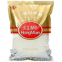 HONGMIAN 红棉 白糖一级白砂糖454g/袋蔗糖粗砂糖食糖厨房调味糖