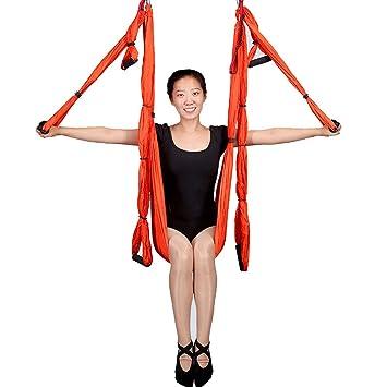 XGYUII Yoga Swing/Hammock/Aerial Flying Ultra Fuerte ...