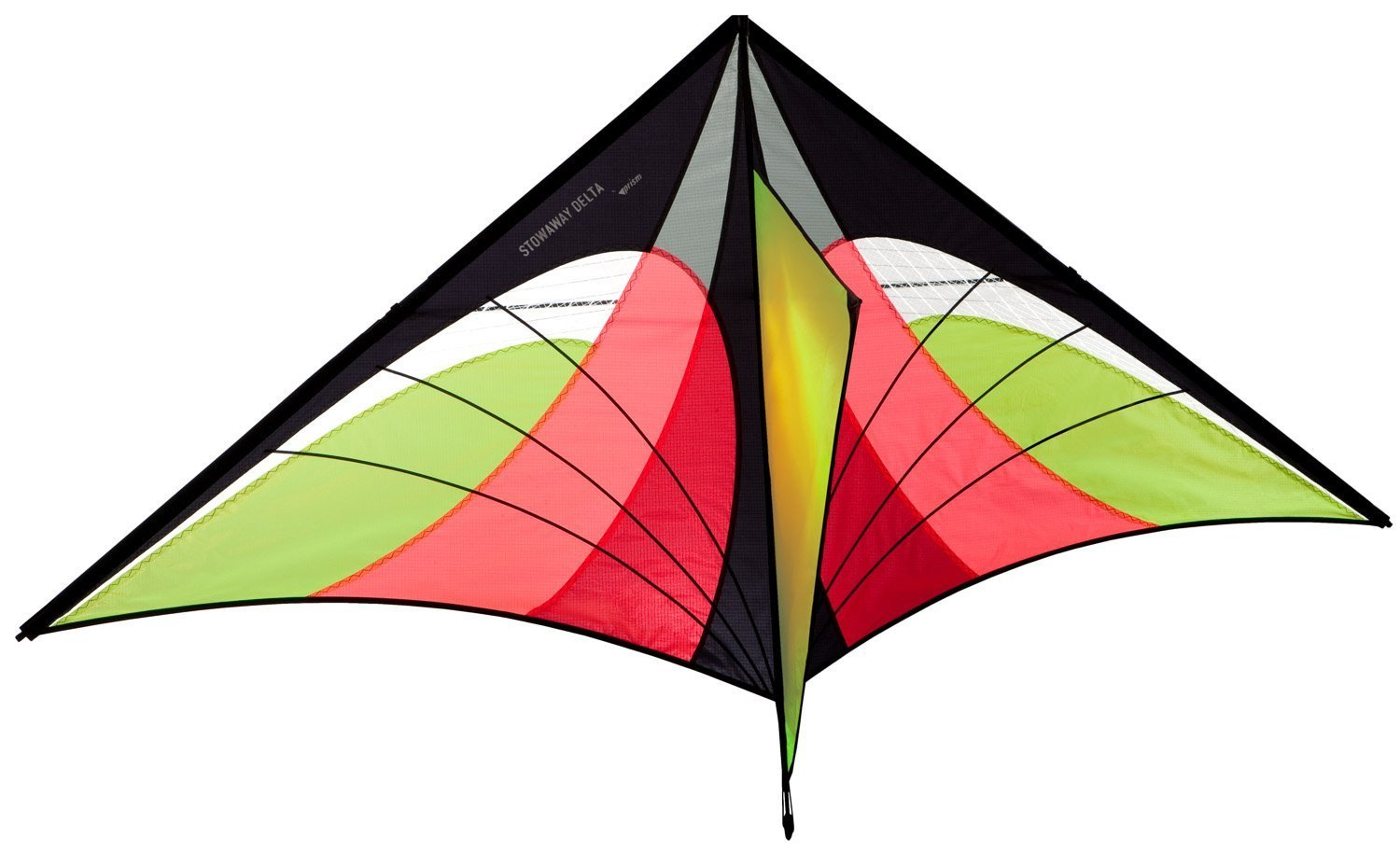 Prism Stowaway Delta Kite (Fire) by Prism Kite Technology