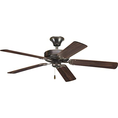 Hunter Indoor Ceiling Fan, with pull chain control – Newsome 52 inch, Premier Bronze, 53320
