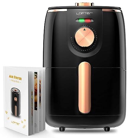 Amazon.com: Freidora de aire, freidora eléctrica de aire ...