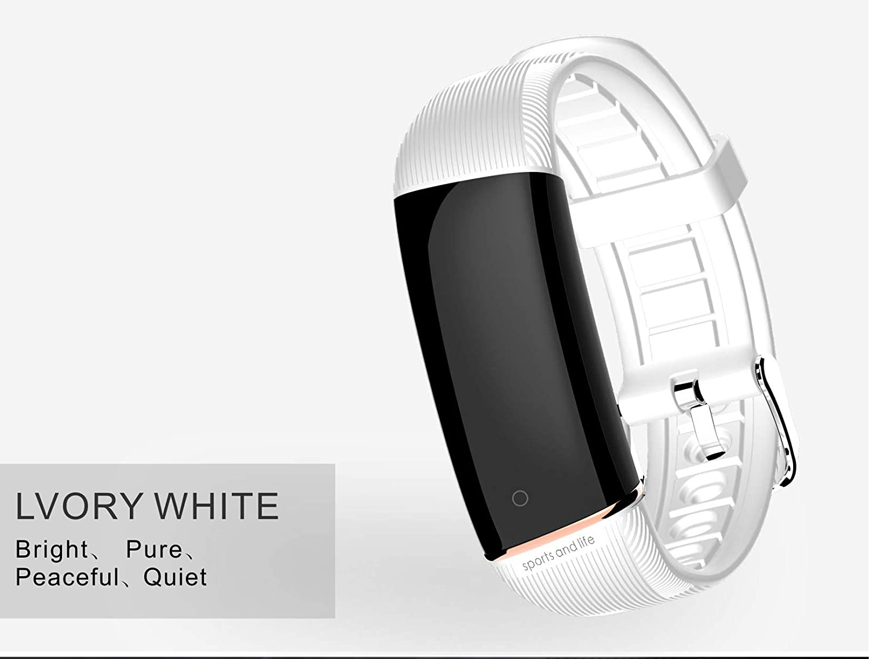 Amazon.com: HAMSWAN E98 Smart Bracelet Fitness Track Full ...