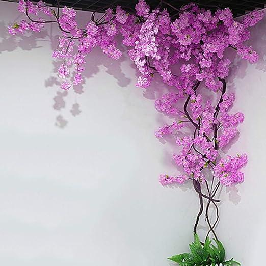 Amazon Com Hspoup Artificial Cherry Blossom Trees Light Pink