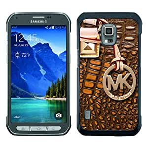 Great Quality M-K Samsung Galaxy S5 Active Case ,Newest M-K 116 Black Samsung Galaxy S5 Active Cover Case Unique And Beautiful Designed Phone Case