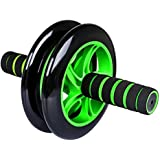 Bulfyss Unisex Double Wheel Unisex Ab Abdominal Roller With Knee Mat