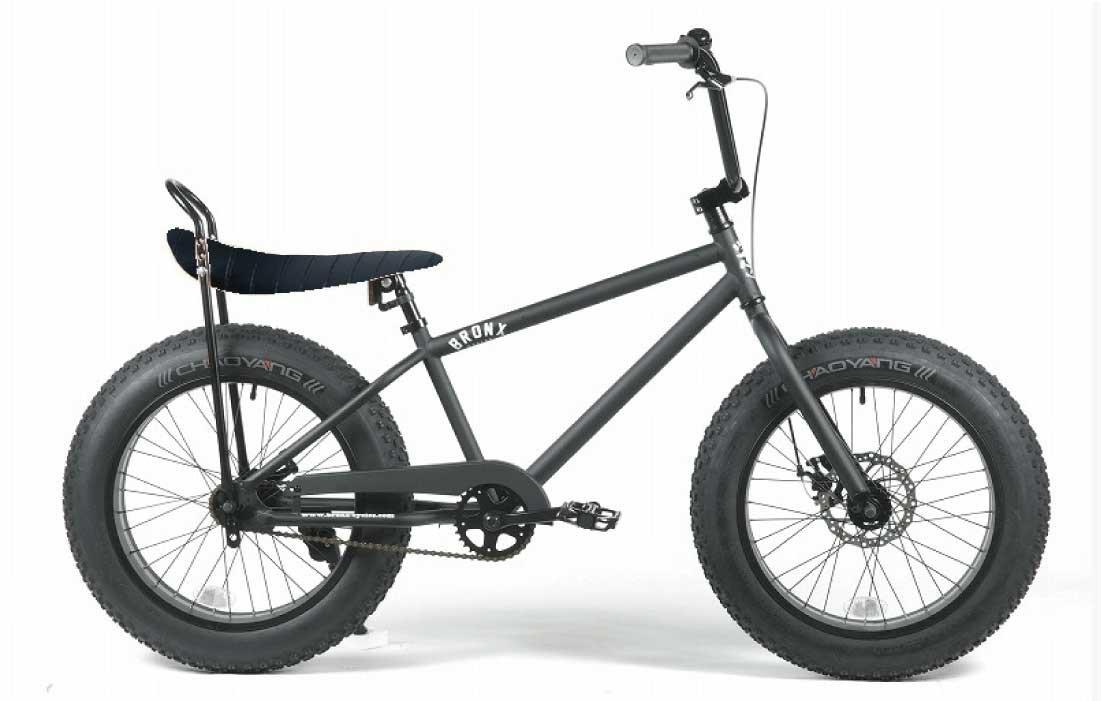 BRONX 20inch Custom 【ブロンクス 20inchカスタム ファットバイク】 ※バナナシートCCバーはセレクト B078Z8D44M ブラックラメ×ブラックCCバー ブラックラメ×ブラックCCバー
