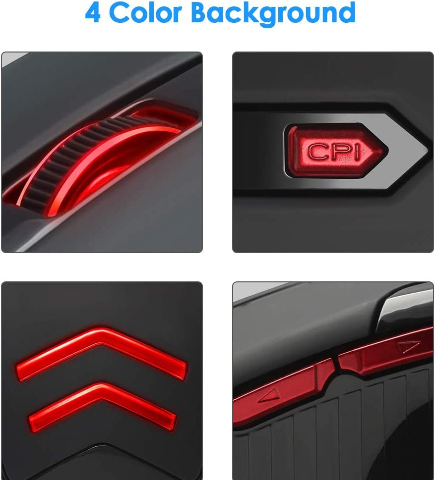 2.4G Silent Wireless Photoelectric Office Notebook Desktop Computer Game Mouse Ideal for Work Study and Sport JJJ Gaming Mouse