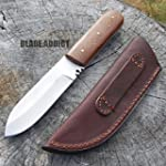 8 5 MOUNTAIN MAN WESTERN STYLE FULL TANG PATCH KNIFE Skinner Camping Hunting H