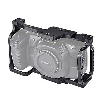 Neewer Jaula Cámara Compatible con BMPCC 4K y 6K Diseño Blackmagic ...