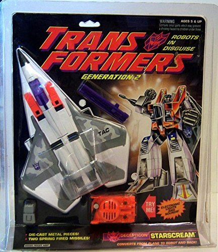 Transformers Generation 2 G2 Decepticon Jet Starscream Vintage 1992 Action Figure (Jet Decepticon)