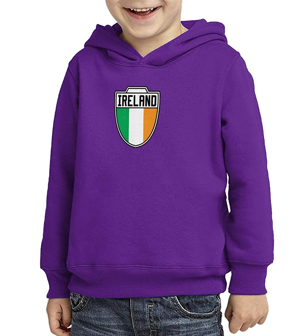 Ireland Country Soccer Crest Toddler//Youth Fleece Hoodie