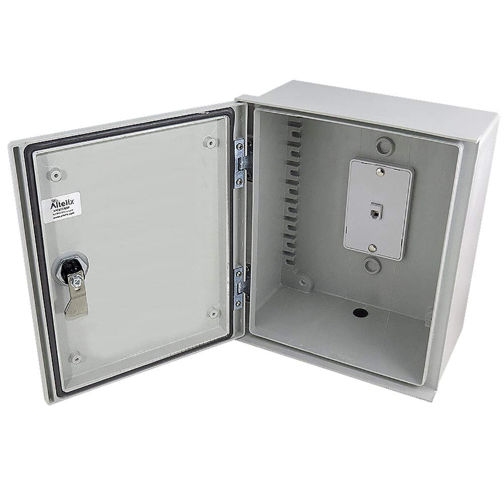 Altelix Emergency Phone Call Box (10.8'' x 9.4 x 5.4'' Inside Space) Weatherproof NEMA 3X