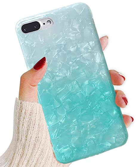 info for 557fe 1f4dc J.west iPhone 8 Plus Case/iPhone 7 Plus Case, Cute Ultra Thin [Tinfoil  Series] Macaron Color Bling Lightweight Soft TPU Case Cover for iPhone 7  Plus / ...