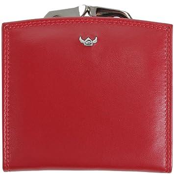 Golden Head Polo Monedero 10 cm piel Rot: Amazon.es: Equipaje