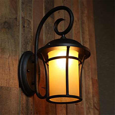 CGHYY Industrial Wall Light Shade Vintage Style Outdoor ... on