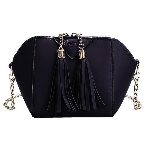402cc63c17e1 Amazon.com  Women Mini Cross Body Shoulder Bags Fashionable Casual Handbags  Leather Bag for Teen Girls F by TOPUNDER  Shoes
