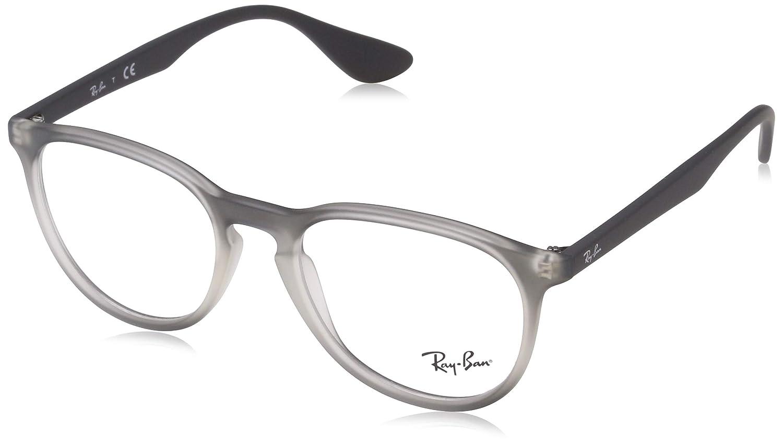 874069c0c1b9 Amazon.com: Ray-Ban Women's RX7046 Eyeglasses Blue Gradient Rubber 51mm:  Shoes