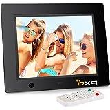 OXA 8 Pollici Cornice Foto Digitale 16G di Memoria Rilevatore di Movimento Lettore MP3 e Video (Nero)