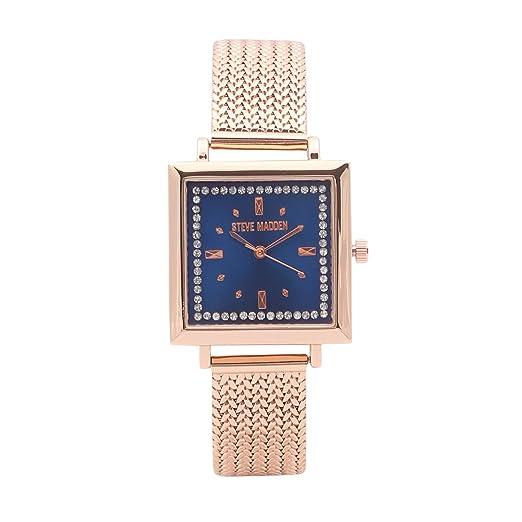 15ce139fe1e Buy Steve Madden Analog Blue Dial Women's Watch-SMW182Q Online at ...