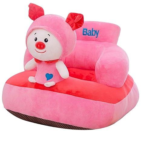 Amazon.com: Olpchee - Sofá de apoyo para bebé, de peluche ...