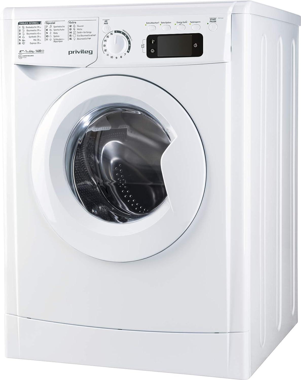 Privileg PWF M 643 Waschmaschine Frontlader / 1400 rpm / 6 kilograms: Amazon.de: Elektro-Großgeräte - Privileg Waschmaschine