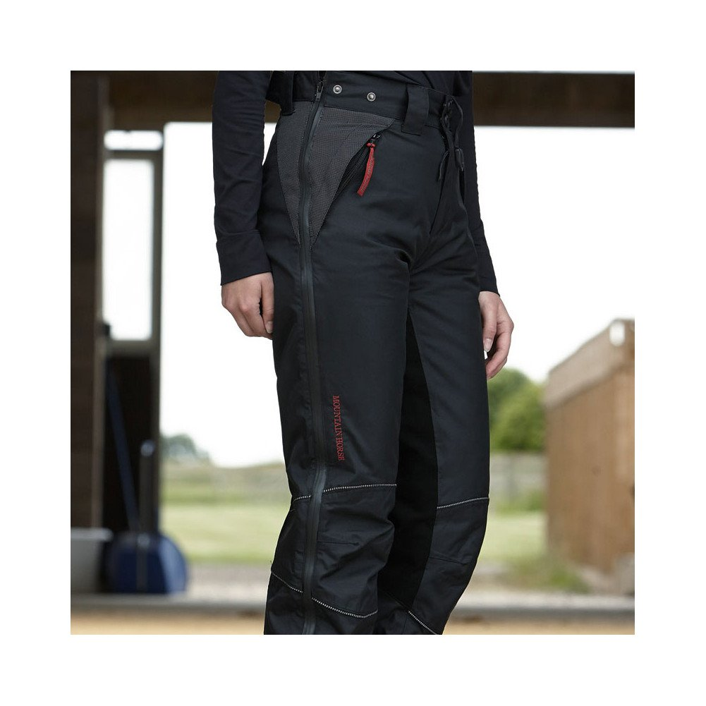 Mountain Horse Polar Breeches Waterproof Pant Medium Black by Mountain Horse