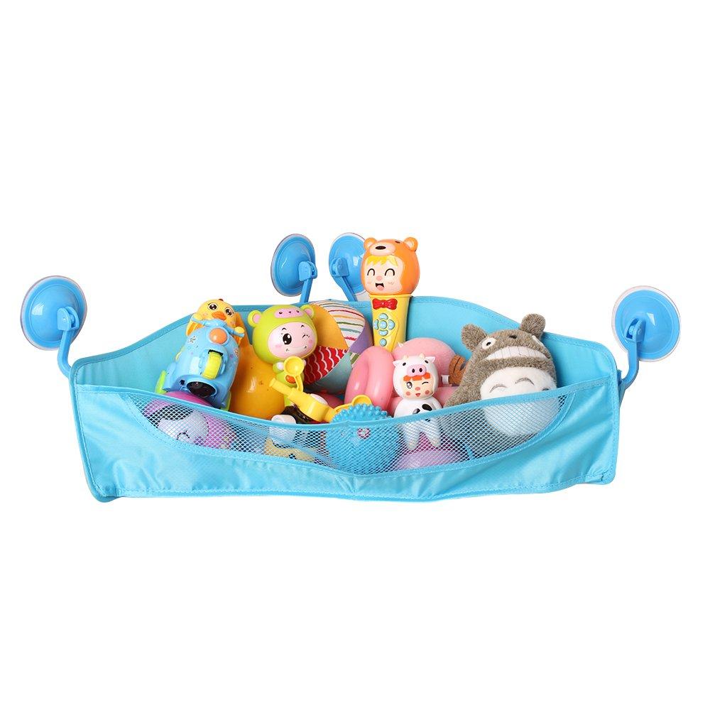 KidsToddlers Bath Toy Organizer Corner Bathroom Basket Shower Caddy ...