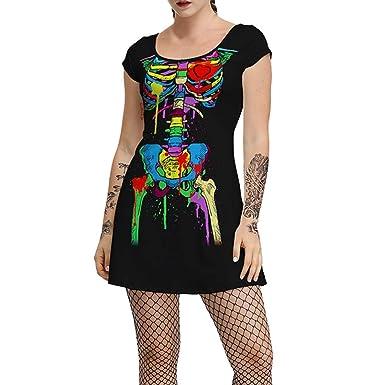 Amazon.com: Disfraz de Halloween para mujer, vestido de ...