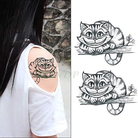 Handaxian 5 Piezas Etiqueta de Tatuaje a Prueba de Agua Tigre ...