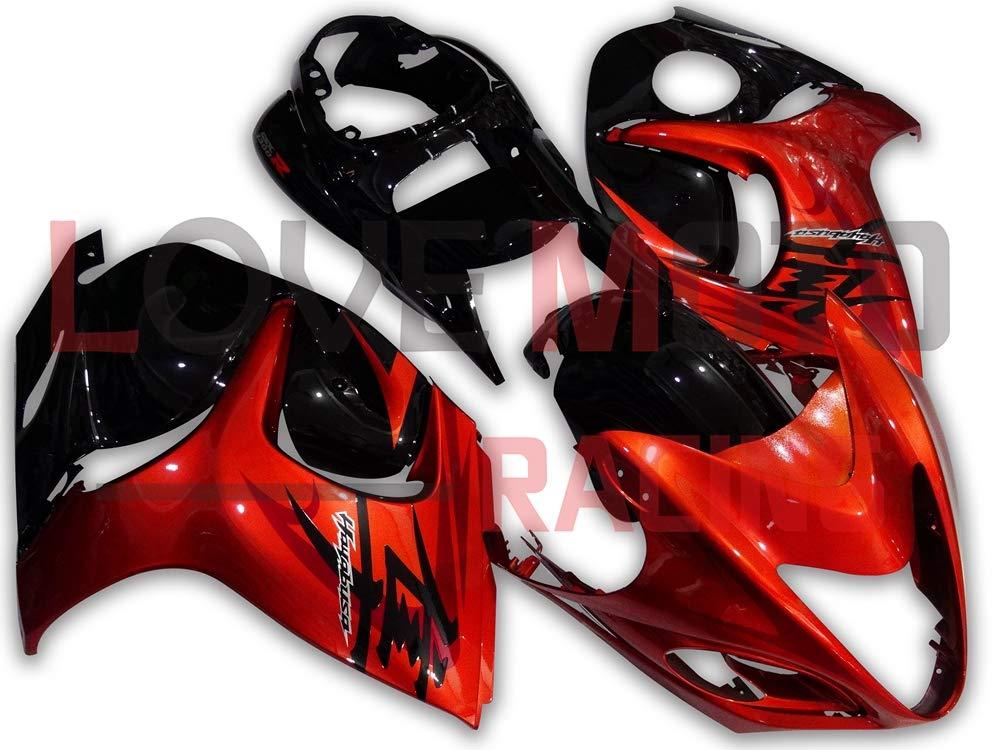 RED /& BLACK CUSTOM 07-12 FITS SUZUKI GSX 1300 B KING BK8 FRONT SEAT COVER