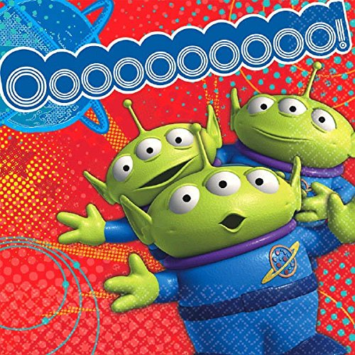 Alien Themed Costumes (American Greetings Toy Story 3 Lunch Napkins (16 Count))