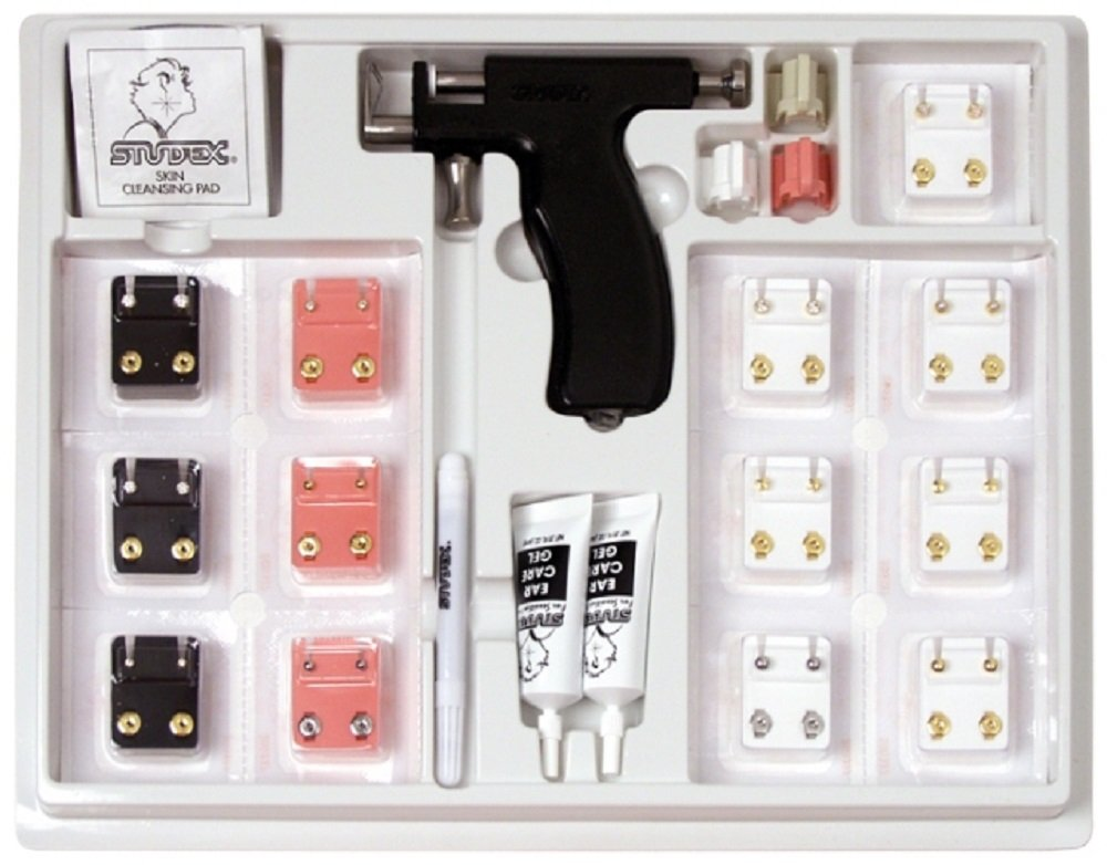 Studex Universal Ear Piercing Kit instrument 20 studs