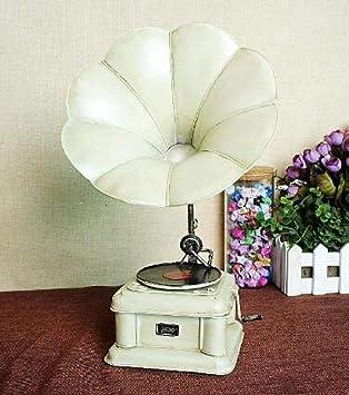 Domlexxx Reproductor de gramófono Antiguo Tocadiscos Modelo ...
