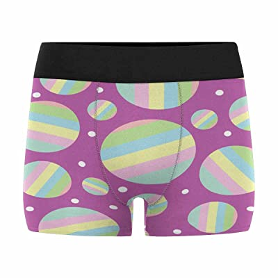 InterestPrint Boxer Briefs Men's Underwear Circles (XS-3XL)