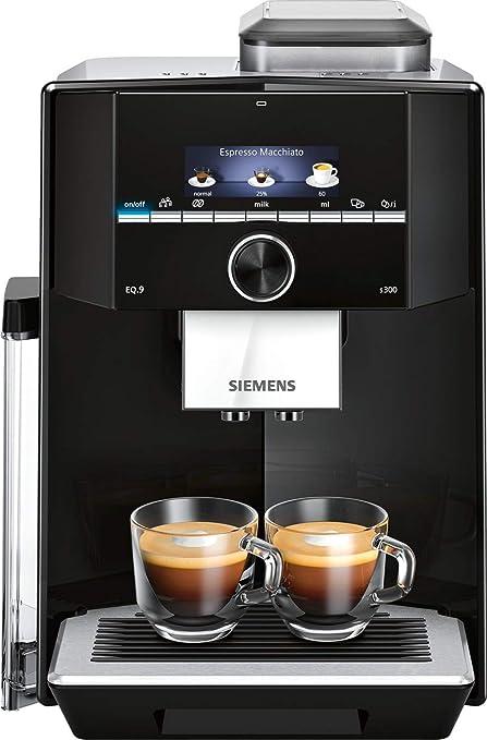 Siemens EQ.9 s300 Independiente - Cafetera (Independiente, Cafetera de filtro, 2,3 L, Molinillo integrado, 1500 W, Negro): Amazon.es: Hogar